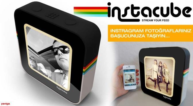 InstaCube Instagram Fotoğraflarınızı Başucunuza Taşıyor…