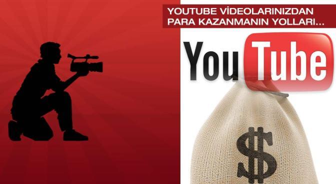 Youtube'dan Nasıl Para Kazanabilirsiniz?