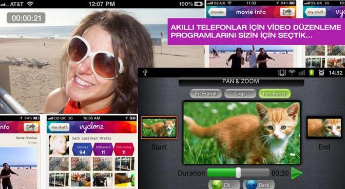 Akıllı Telefonlarınız İçin En İyi 9 Video Düzenleme Programı…