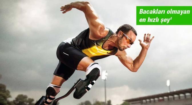 Oscar Pistorius, 'Bacakları Olmayan En Hızlı Şey' 45.44'lük derecesiyle tarihe geçti