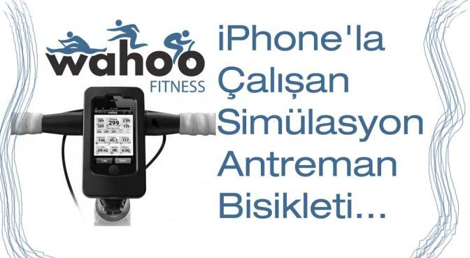 iPhone'la Çalışan Simülasyonlu Antreman Bisikleti