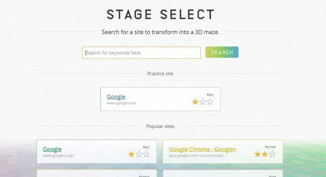 Google Chrome Web Sitenizi 3 Boyutlu Oyuna Dönüştürüyor
