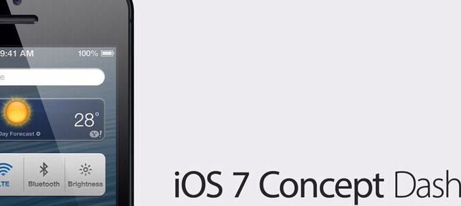 iOS 7 Böyle Olacak