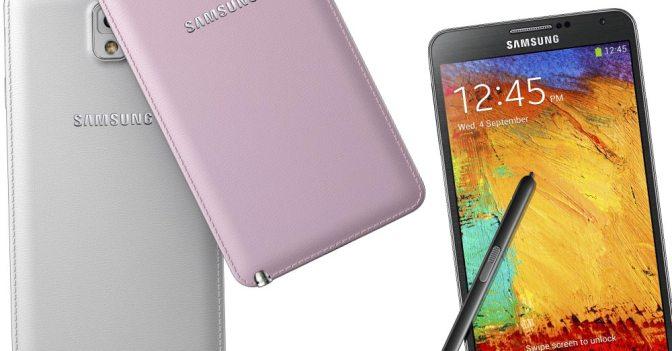 Samsung Galaxy Note 3 Özellikleri ve Fiyatı