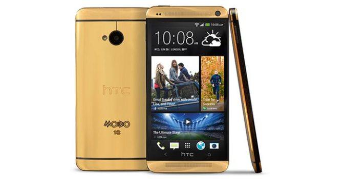 HTC Altın Renkli Telefonu HTC One'ı Duyurdu