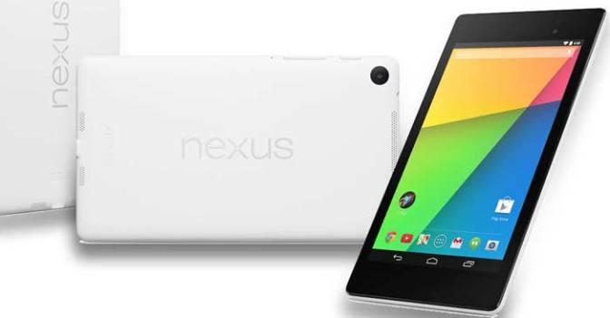 Nexus 7 32GB Beyaz Tablet Japonya'da 269$ Satışa Sunuldu