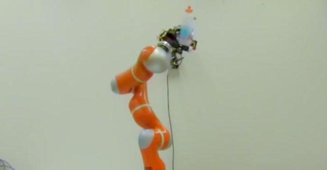 Robotlar Uçan Nesneleri Yakalamayı Öğrendi